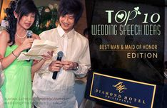 Top 10 Wedding Speech Ideas: Best Man and Maid of Honor Edition