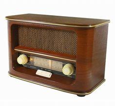 Draagbare Retro Radio NR945 AM/FM