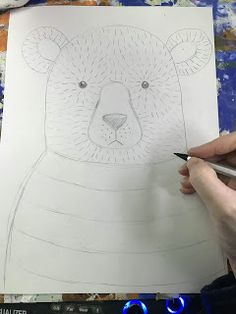 grade Ugly Sweater Bears - Elements of the Art Room: grade Ugly Sweater Bears -