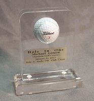 Acrylic Hole-in-One Golf Ball Display