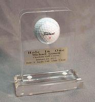 Acrylic Hole-in-One Golf Ball Display