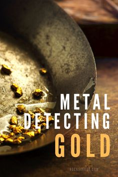 You'll want to check out these tips for metal detecting for gold. This article shares 5 tips and techniques on how to find gold with a metal detector specifically in creeks beds. So check them out before you set out on another gold prospecting trip. Gold Mining Equipment, Metal Detecting Tips, Gold Detector, Magnet Fishing, Gold Prospecting, Rock Hunting, Iron Ore, Types Of Gold, Rock Collection