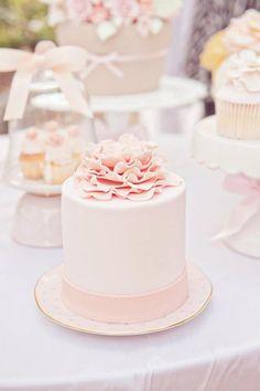 422388 369325853088891 1169696412 n Tea party nel giardino segreto Fancy Cakes, Mini Cakes, Cupcake Cakes, Pretty Cakes, Beautiful Cakes, Amazing Cakes, Mini Wedding Cakes, Mini Tortillas, Love Cake