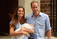 The Royal Baby Makes His First Public Appearance