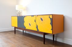 Mid Century Modern Upcycled Vintage Sideboard. by ResurfaceDesigns