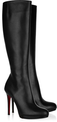 Christian Louboutin New Simple Botta 120 leather knee boots