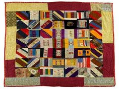 Civil War Quilts: Ribbons and Ribbon Badges. We call them ribbons. They called them badges.