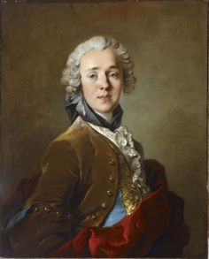 Portrait de Denis-Jean de la Villguevray, par Louis Tocqué