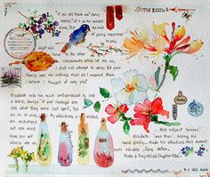 20-04-10  Lizzy ♥ Darcy and Jane by Bua S, via Flickr