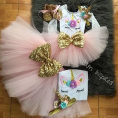 Birthday party diy ideas tutus 29 Ideas for 2019 Party Unicorn, Unicorn Themed Birthday Party, Birthday Party Outfits, Baby Girl Birthday, Birthday Dresses, Birthday Party Decorations, 5th Birthday, Birthday Ideas, Unicorn Outfit