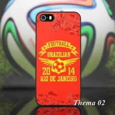 2014 FIFA WORLD CUP Brazil Bild hochwertig Plastik iPhone 4 4S Hard Case Back Cover Hülle