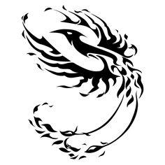 Celtic phoenix | Trends Tattoo 2011: Tribal Phoenix Tattoo Design