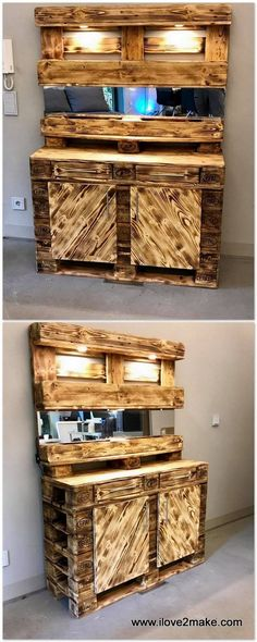 CREATIVE RECYCLED DIY PALLETS TO BEAUTIFY YOUR HOMES IN EFFECTIVE MANNER