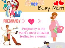 Weight Loss Tips for mom infographics