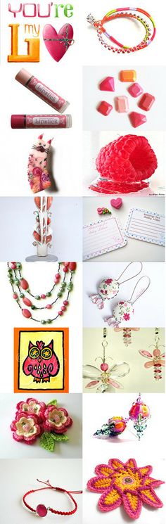Love Pink by Beth on Etsy--Pinned with TreasuryPin.com