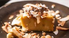 Flan de yogur y coco, receta de un postre fácil de preparar