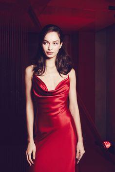 Luma Grothe, L'Oréal Paris Red Obsession Party, #PFW