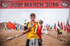 Stray Dog Decides To Join 155-Mile Race — And Ends Up With A New Dad