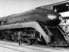 Frisco 1000 Locomotive Photos