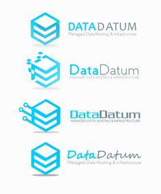 Data Host Logo Concept 1 (SOLD) by DianaGyms.deviantart.com on @DeviantArt