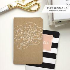 National Handwriting Day + May Designs Collaboration - Saffron Avenue : Saffron Avenue
