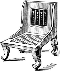 Greek Klismos Chair Some of the greatest schoolwork