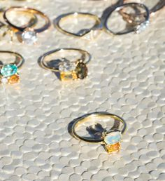 We created the brand-new, revamped, Opal Cluster Ring for our permanent collection! Joining it are two more new collection designs: the Andalusite Cluster Ring and Andalusite Nikko Ring, crafted with an equally radiant new colored gemstone. Shop Engagement Rings: http://bario-neal.com/jewelry/engagement-rings/
