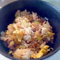 牛挽肉と長ネギ生姜、卵。隠し味は、オイスターソースとナンプラー。レモンを絞って食べるといいお。 - 7件のもぐもぐ - ナシゴレン♪ by ryurensuzuQ5p