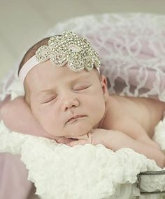 Look at this #zulilyfind! Silver & White Beaded Headband by Nest Of Many Colors #zulilyfinds