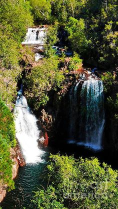 Florence Falls, Litchfield National Park.The Northern Territory epitomises RAW Australia everyone loves. Two UNESCO sites. Kakadu, Uluru Awe inspiring rock formations, gorges, ranges, deserts, crocodiles, billabongs, rock art, ancient civilisation. Remote long distances. An artists & photographers delight. Visit my photo gallery and get a beautiful Fine Art Print, Canvas Print, Metal or Acrylic Print. 30 days money back guarantee on every purchase so bring some 'NATURE' in your home or…