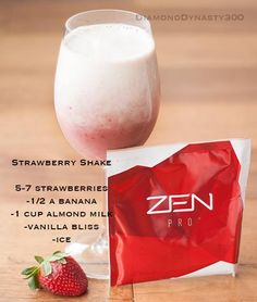Zen Bodi Pro is a protein shake with easily digestible proteins from whey, pea and brown rice, fiber and 10 Billion probiotics so you can start your day off right.