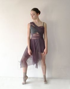 Contemporary/ Lyrical Dance Costume Inside Out