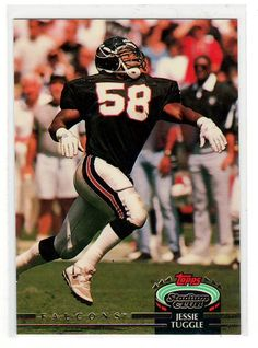 Sports Cards Football – 1992 Topps Stadium Club Jessie Tuggle