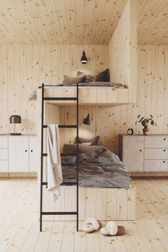 Tiny House Living, Small Living, Kids Bedroom, Bedroom Decor, Decor Room, Interior Architecture, Interior Design, Bunk Rooms, Cheap Home Decor