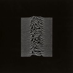 Joy Division, Unknown Pleasures album cover