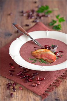 Bean and bacon soup by laperla2009, via Flickr