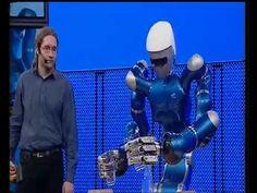 DLR Roboter Justin serviert Wasser (2008)