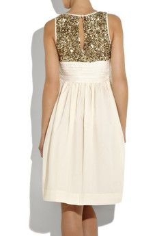 cute rehearsal dinner dress, or something like that. the front is a little strange though, i wish it was all sequin