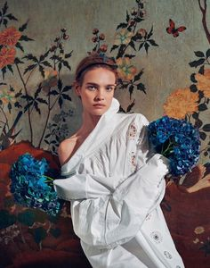 natalia vodianova by ryan mcginley for porter #7 spring 2015 (via Bloglovin.com )