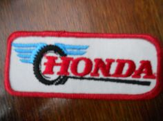 Honda iron on patch van Silly67 op Etsy, €4.00