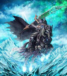 ArtStation - Death Knight, jie li