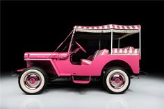 1960 WILLYS JEEP SURREY GALA CONVERTIBLE