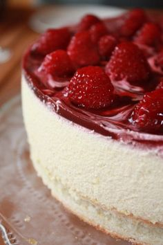 Parfait Vanille & Framboises avec un Crémant Rosé d'Alsace ! / Vanilla & Raspberry Parfait with Alsacian Icing...<3