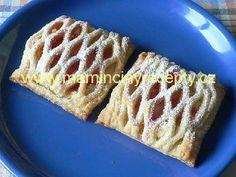 Mřížkové koláče s pudinkem