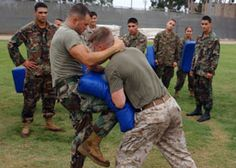 USMC Training. Our Good Friend in Action.