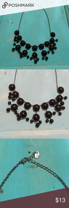Black Necklace No damage. From Claire's. Claire's Jewelry Necklaces