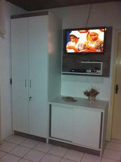 Guarda roupa painel de tv