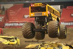 Cool Bus Higher Education at Monster Jam 2013
