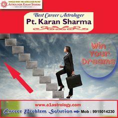 Best career astrologer PT.KARAN SHARMA JI. Please visit us- www.a1astrology.com