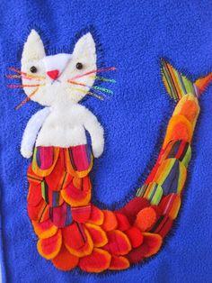 Elzbieta Wasiuczynska illustrations of cats